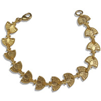 Castellani Granulated Link Bracelet