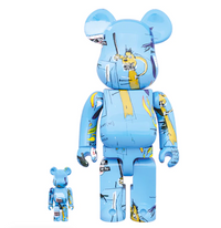 Be@rbrick Jean-Michel Basquiat #4 100% and 400%