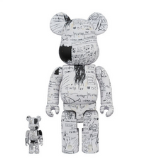 Be@rbrick Jean-Michel Basquiat #3 100% and 400%