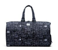Basquiat x Herschel Supply Co. - Novel Large Duffle Bag, Basquiat Beat Bop