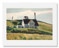 Edward Hopper, Hill and Houses, Cape Elizabeth, Maine