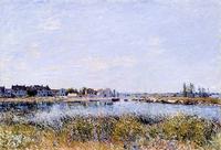 Alfred Sisley, Saint-Mamms:  Morning (Le Matin)
