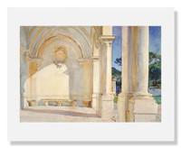 John Singer Sargent, Villa Falconiere