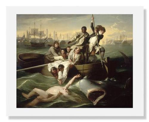 John Singleton, Copley Watson and the Shark