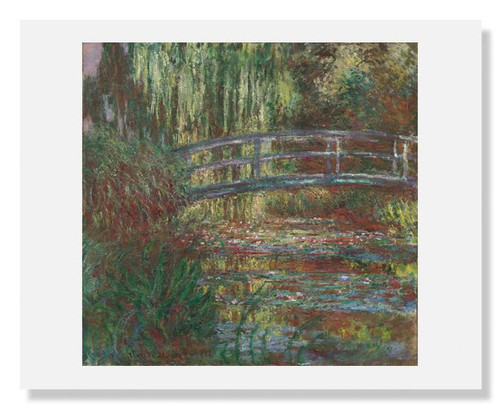 Claude Monet, The Water Lily Pond