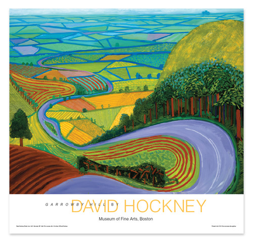 David Hockney, Garrowby Hill Poster