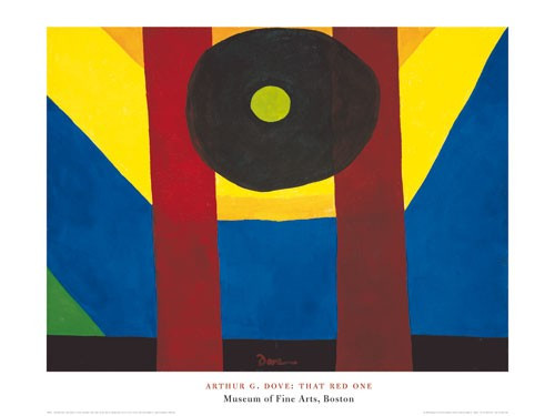 Arthur Garfield Dove, That Red One Poster