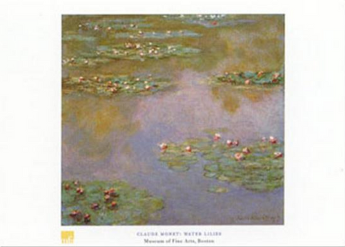 Claude Monet, Water Lilies, 1907 Poster