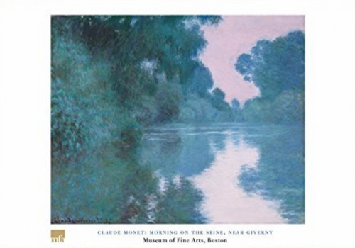 Claude Monet, Morning on the Seine Poster