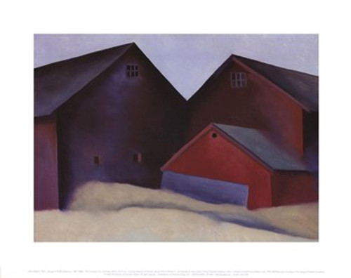 O'Keeffe Ends Of Barns