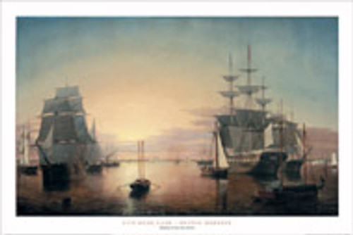 Fitz Henry Lane, Boston Harbor Poster