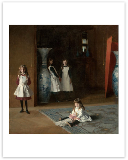 Sargent The Daughters of Edward Darley Boit