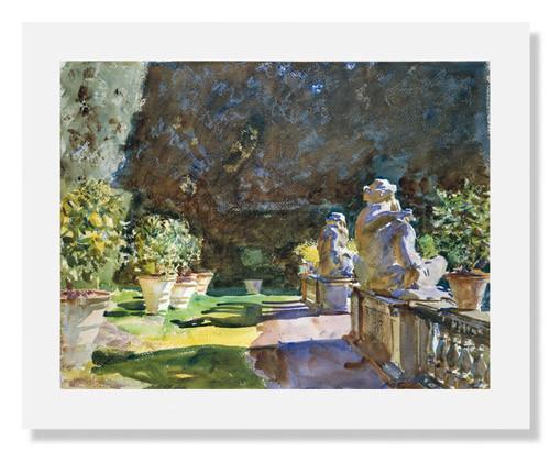 John Singer Sargent, Villa di Marlia, Lucca Poster