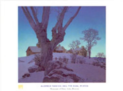 Maxfield Parrish, Hill Top Farm Poster