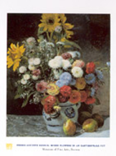 Pierre-Auguste Renoir, Mixed Flowers Poster