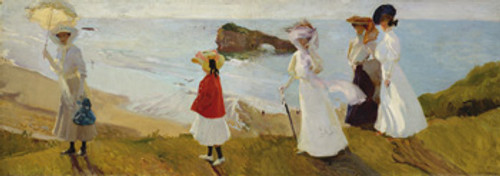 Joaquin Sorolla, Lighthouse Walk Poster