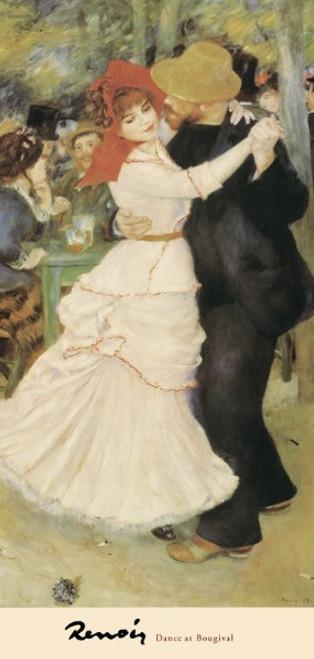 Pierre-Auguste Renoir, Dance at Bougival Poster