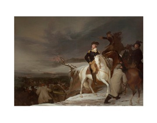 Sully Passage Of the Delaware  11x14 Matted Print