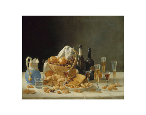 Francis Still Life with Wine
