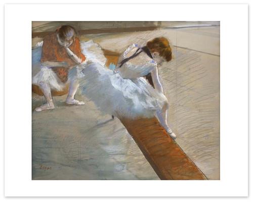 Degas Dancers Resting