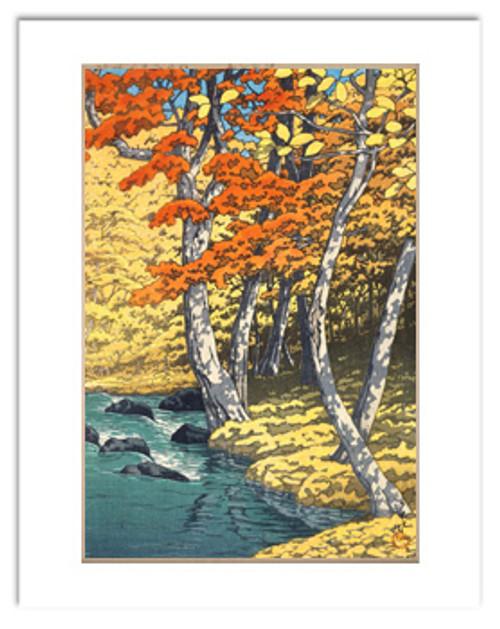 Hasui Autumn at Oirase