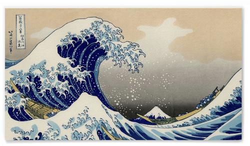 Katsushika Hokusai, The Wave off Kanagawa Poster