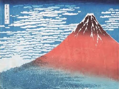 Katsushika Hokusai, Fine Wind, Clear Morning Poster