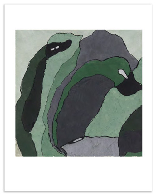 Arthur Dove Composition in Green and Gray (Untitled)