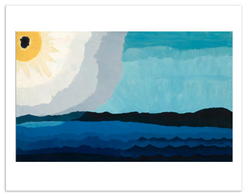 Arthur Dove Sun on the Lake