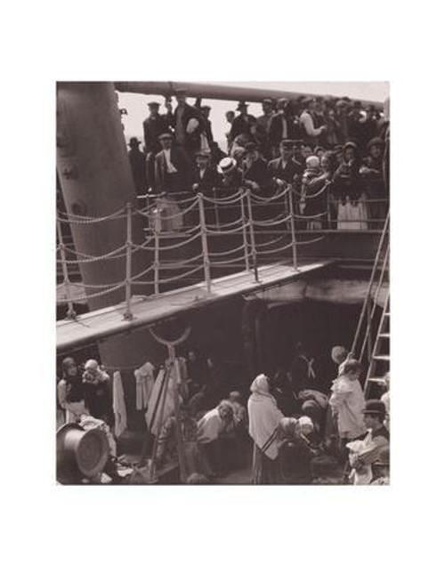 Alfred Stieglitz, The Steerage 11 x 14 Matted Print