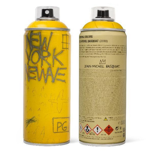 MTN Special Edition Jean Basqiat Spray Paint Can - Yellow