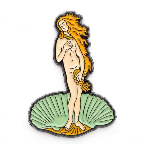 "Sandro Botticelli ""Birth of Venus"" Enamel Pin"