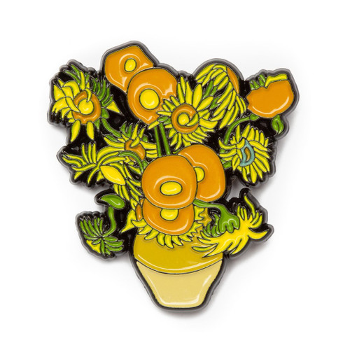 "Vincent van Gogh ""Sunflowers"" Enamel Pin"