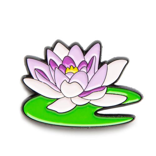 """Monet """"Water Lily"""" Enamel Pin"""
