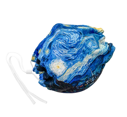 Face Mask - Vincent van Gogh, Starry Night