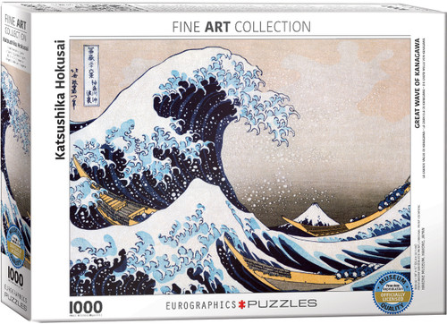 Hokusai, Great Wave off Kanagawa Puzzle - 1000 Pieces