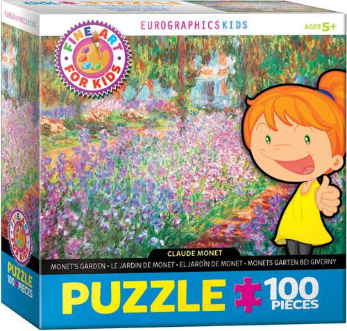 Monet, Monet's Garden 100 Piece Puzzle