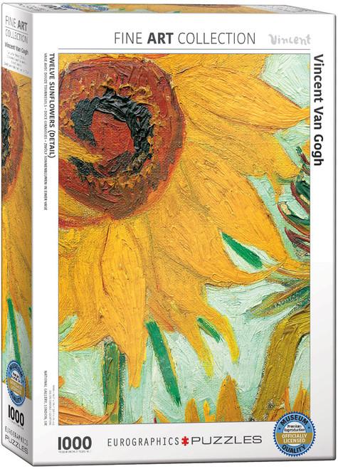 Vincent Van Gogh, Sunflower Puzzle - 1000 Pieces