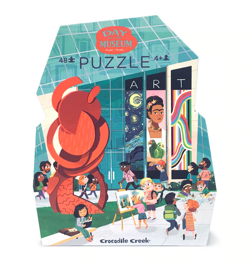 Day at The Art Museum Puzzle - 48 Pieces