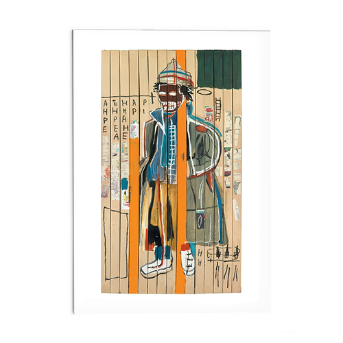 "Basquiat ""Anthony Clarke"" Post Card"
