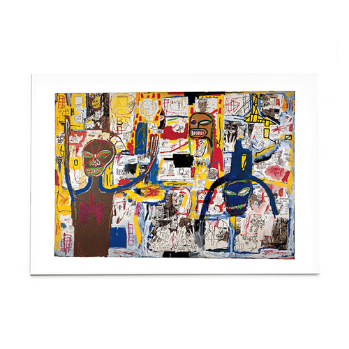 """Basquiat """"Famous Moon King"""" Post Card"""
