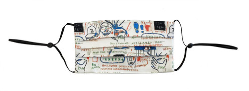 "Face Mask - Basquiat, ""Hollywood Africans"""
