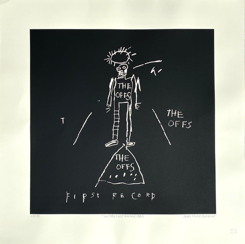 """Jean-Michel Basquiat, The Offs Album Cover Limited Edition Print 24"""" x 24"""""""