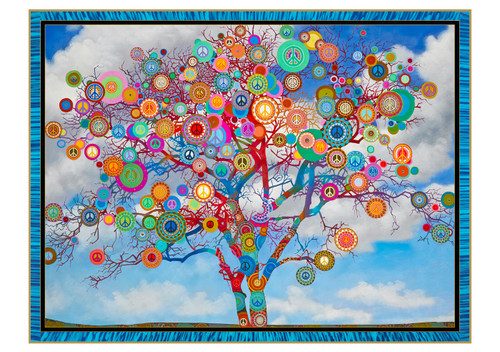 Paul Heussenstamm: Peace Tree Holiday Cards Holiday Cards
