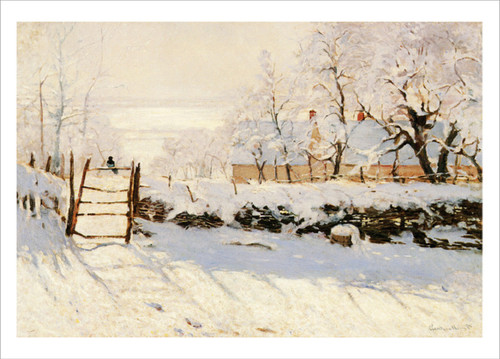 Claude Monet, The Magpie Holiday Cards