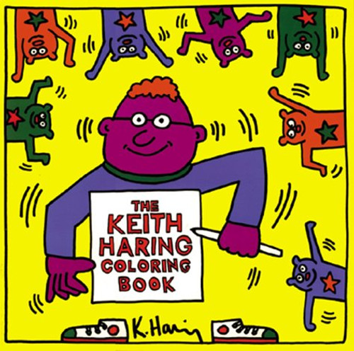 The Keith Haring Coloring Book