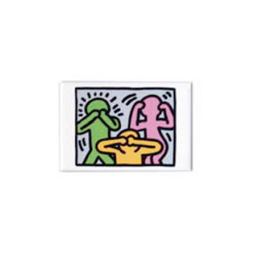 Keith Haring Magnet - No Evil