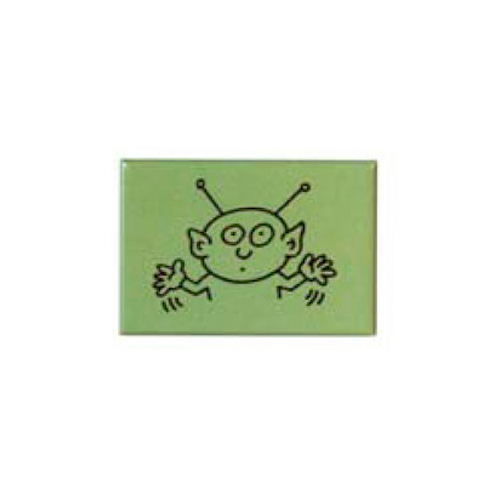 Keith Haring Magnet - Alien