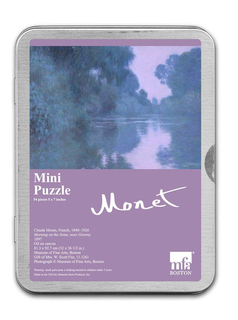 Monet, Morning on the Seine Puzzle  - 54 Pieces