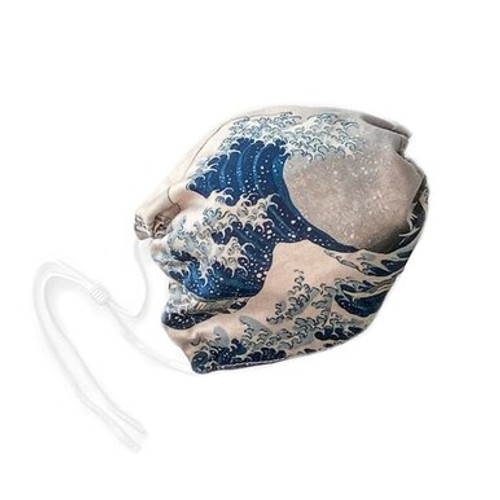 Face Mask - Hokusai The Great Wave